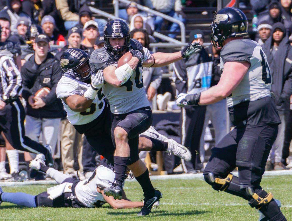 4/7/18 Football Spring Game | Football | purdueexponent.org