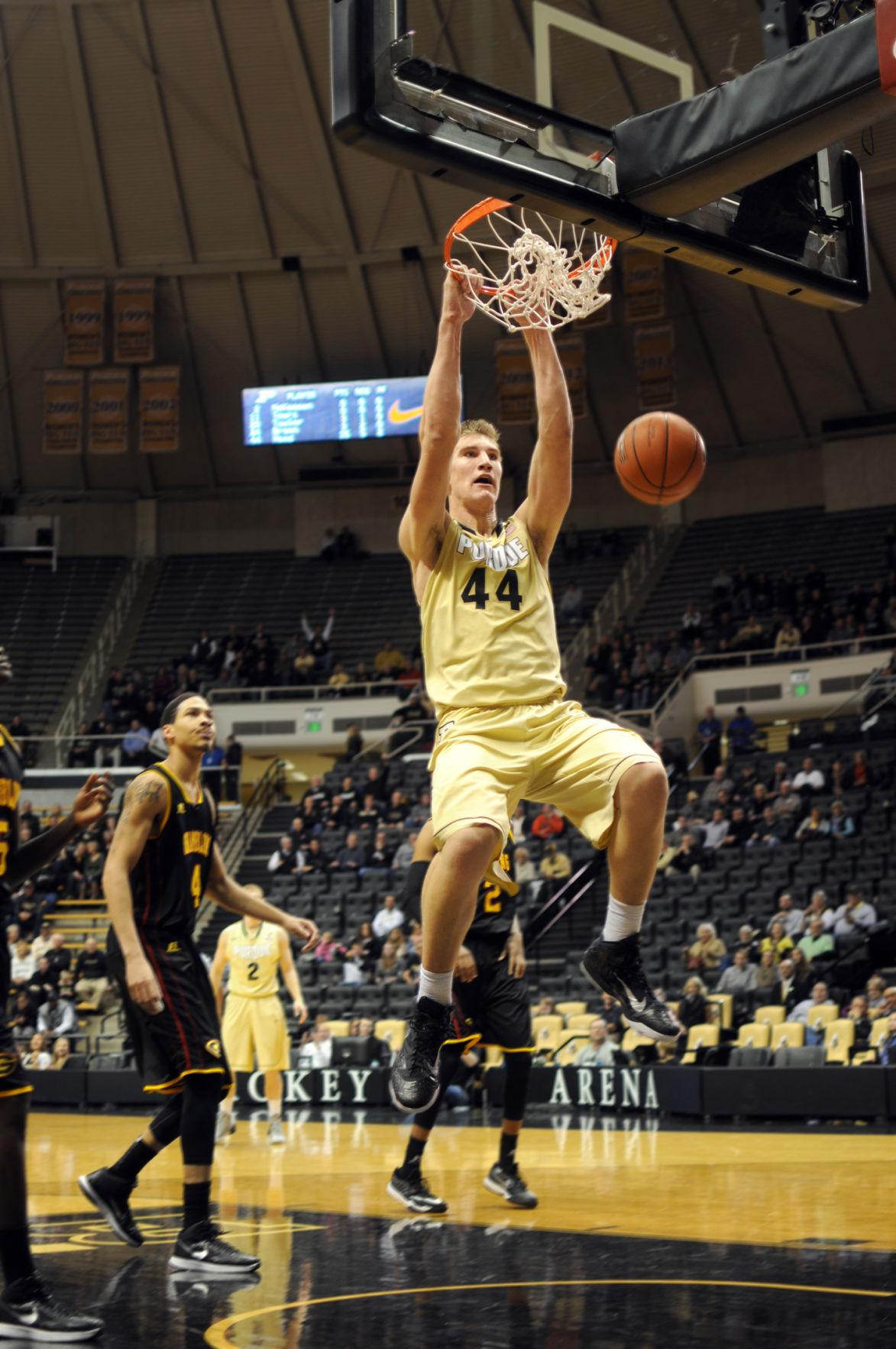 Purdue Basketball: Boilermakers Haas proves too much for