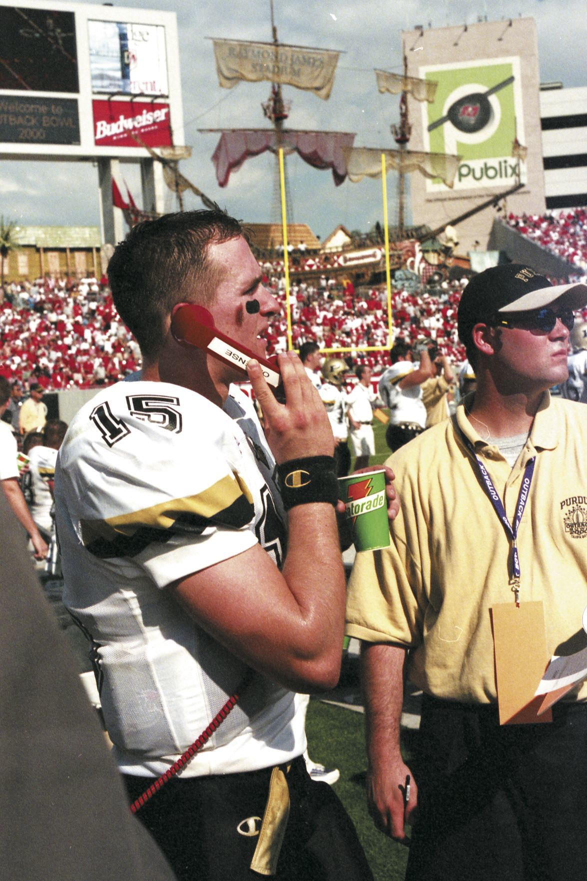 1/1/00 Outback Bowl, Drew Brees