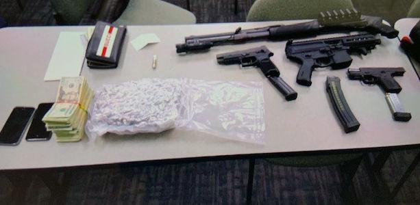 11/5/19 WL Drug Bust, Cash, Guns