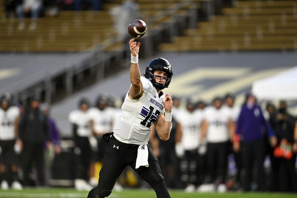 11/14/20 Northwestern, Peyton Ramsey