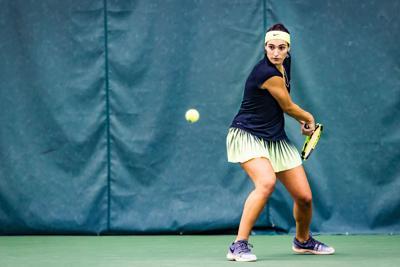 1/20/18 Womens Tennis, Ambrosio