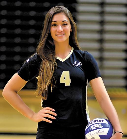 City Of Lafayette >> Purdue volleyball: Player to watch: Sam Epenesa | Sports | purdueexponent.org