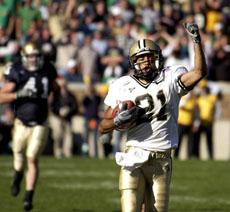10/2/04 Notre Dame, Taylor Stubblefield