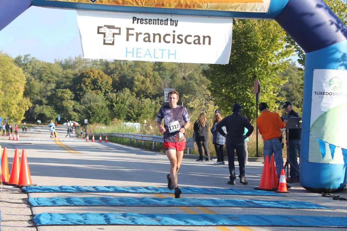 10/13/18 Half Marathon Finish line