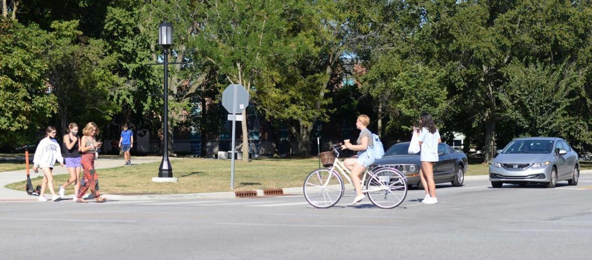 9/1/21 Bike Safety, Crossing Stadium and Jischke