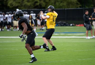 8/21/18 Fall Football Practice, Nick Sipe
