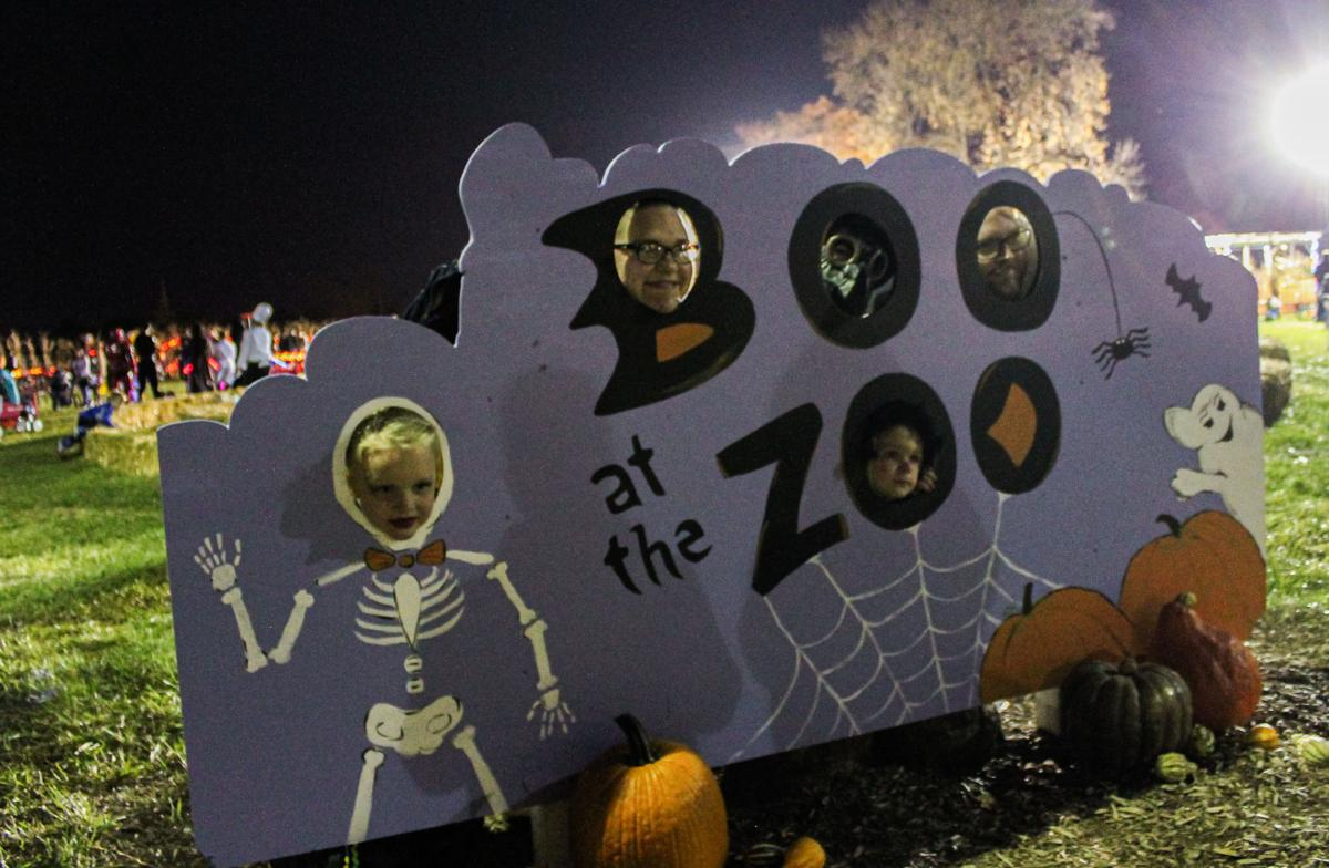 10/25/19 Boo at the Zoo, the LaMar family