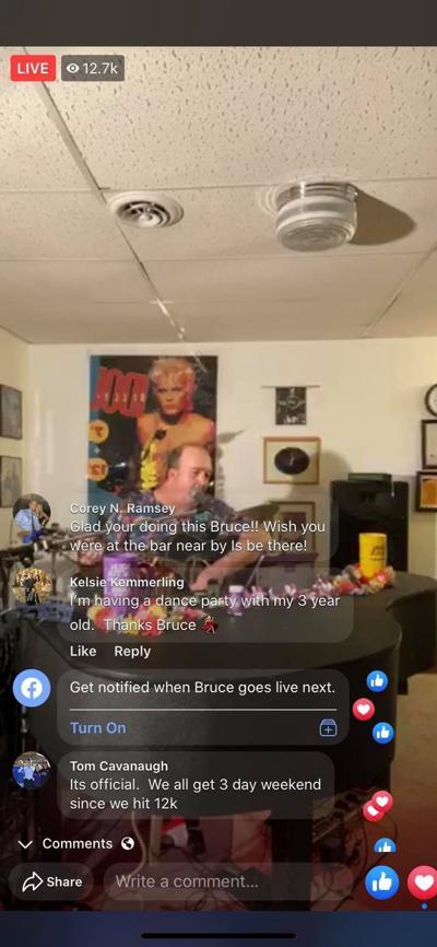 3/26/20 Bruce Barker FB livestream