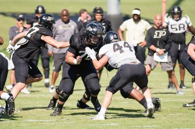 9/18/19 Football Practice Will Bramel and Ben Holt