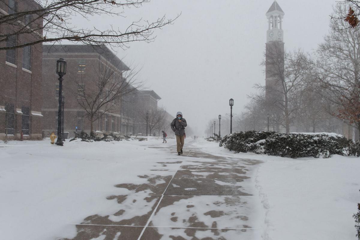 2/16/21 Purdue Snow Day, Snow storm
