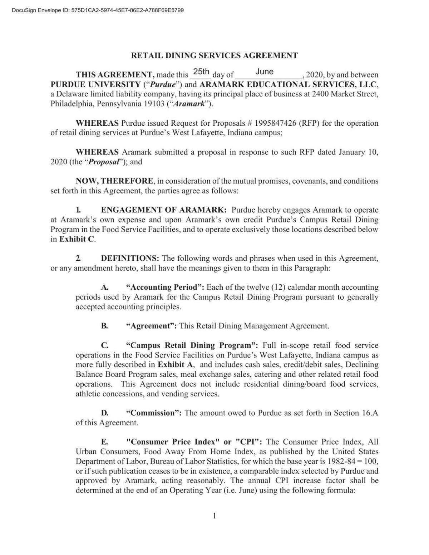 3/30/21 Purdue-Aramark contract