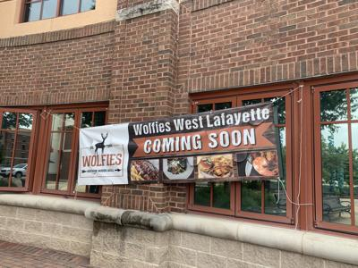 5/31/20 Wolfies Grill coming soon to Wabash Landing