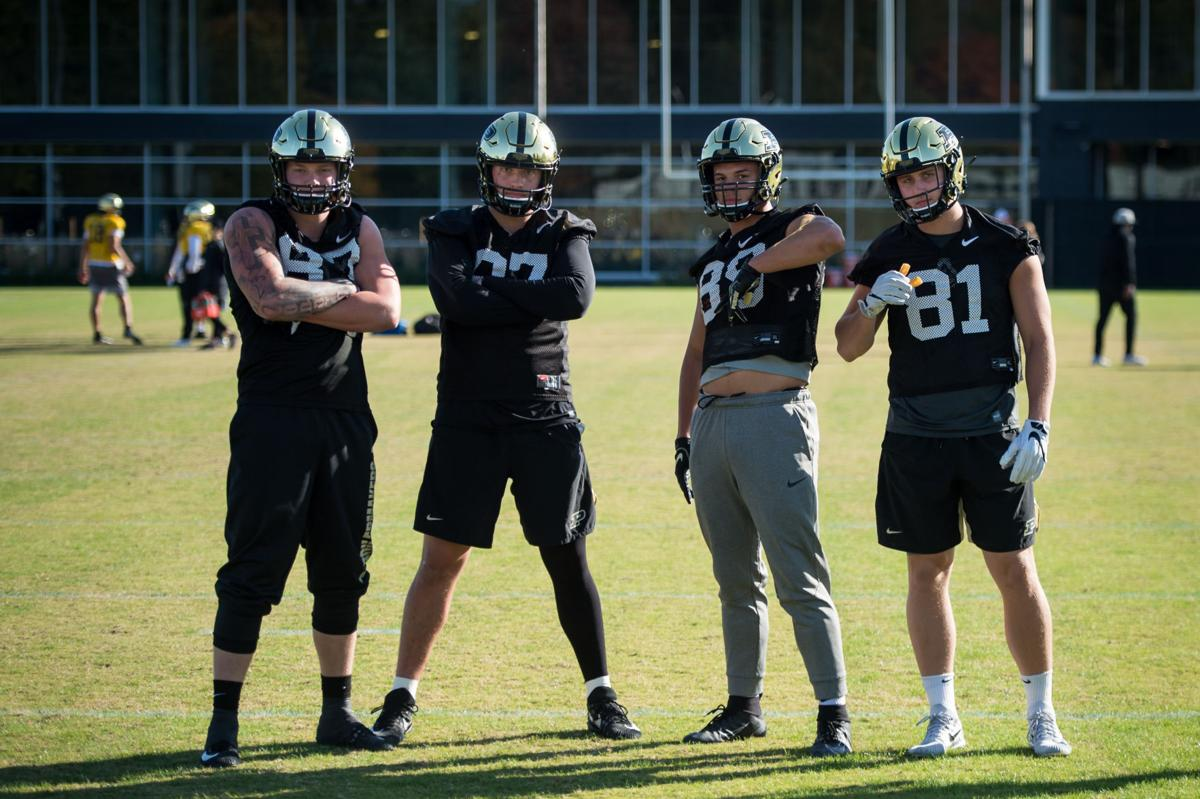 10/23/19 Football Practice, Tight Ends