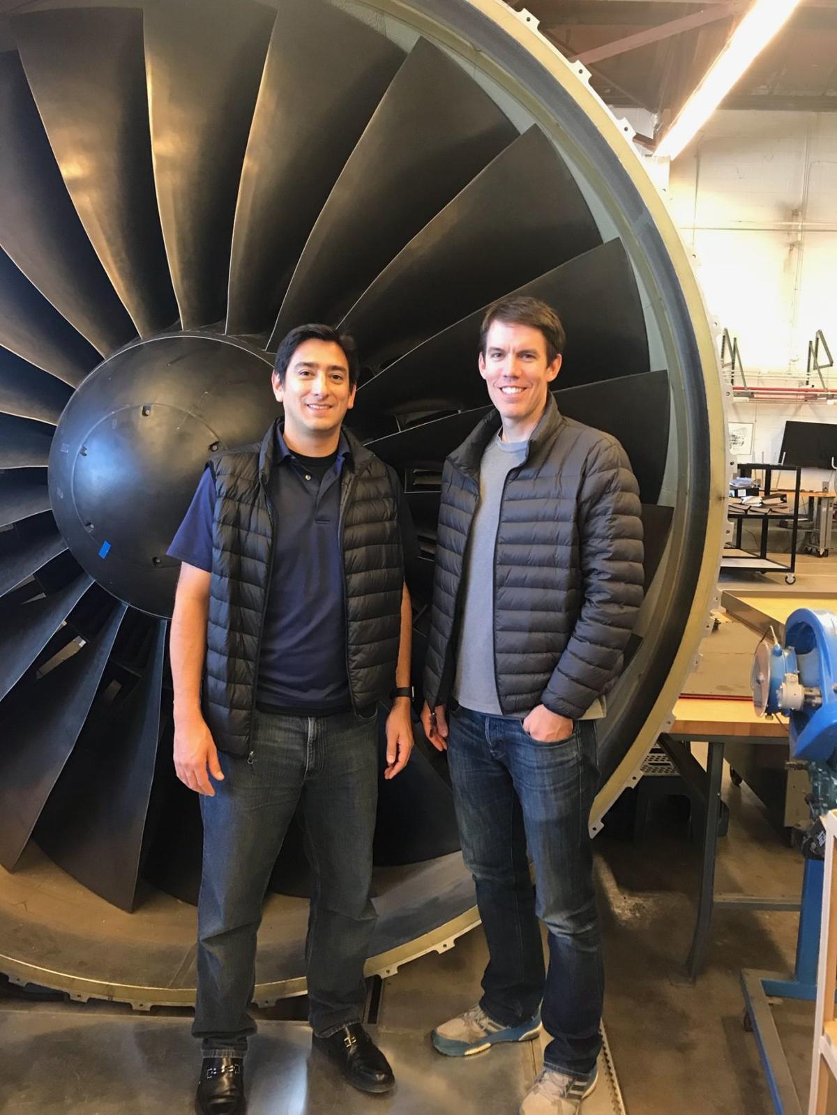 Kevin Bourke and Jorge Saenz