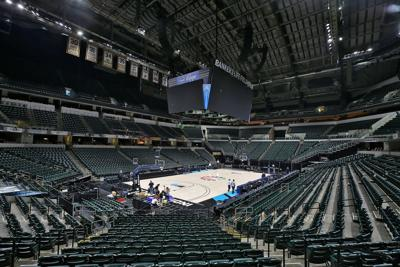 3/12/20 Big Ten Tournament, Empty Bankers Life Fieldhouse