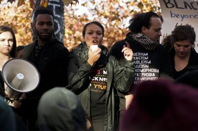 11/13/15 Purdue Solidarity Rally, Jasmine Edison