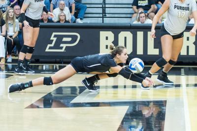 9/1/19 Purdue Volleyball vs Ohio Jena Otec