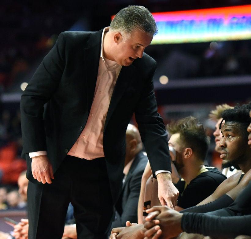 1/5/20 Illinois,Trevion Williams, Coach Matt Painter