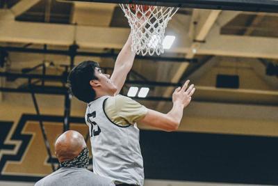 10/15/20 Basketball Practice, Zach Edey