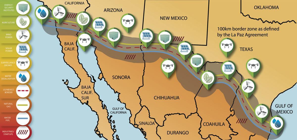 Professor hopes to build green border wall alternative