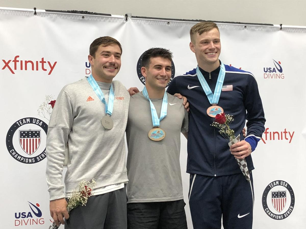 5/28/19 Purdue diving winners