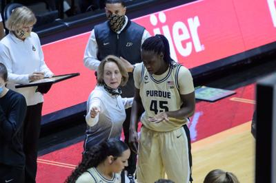2/14/21 Rutgers, Fatou Diagne, Beth Couture