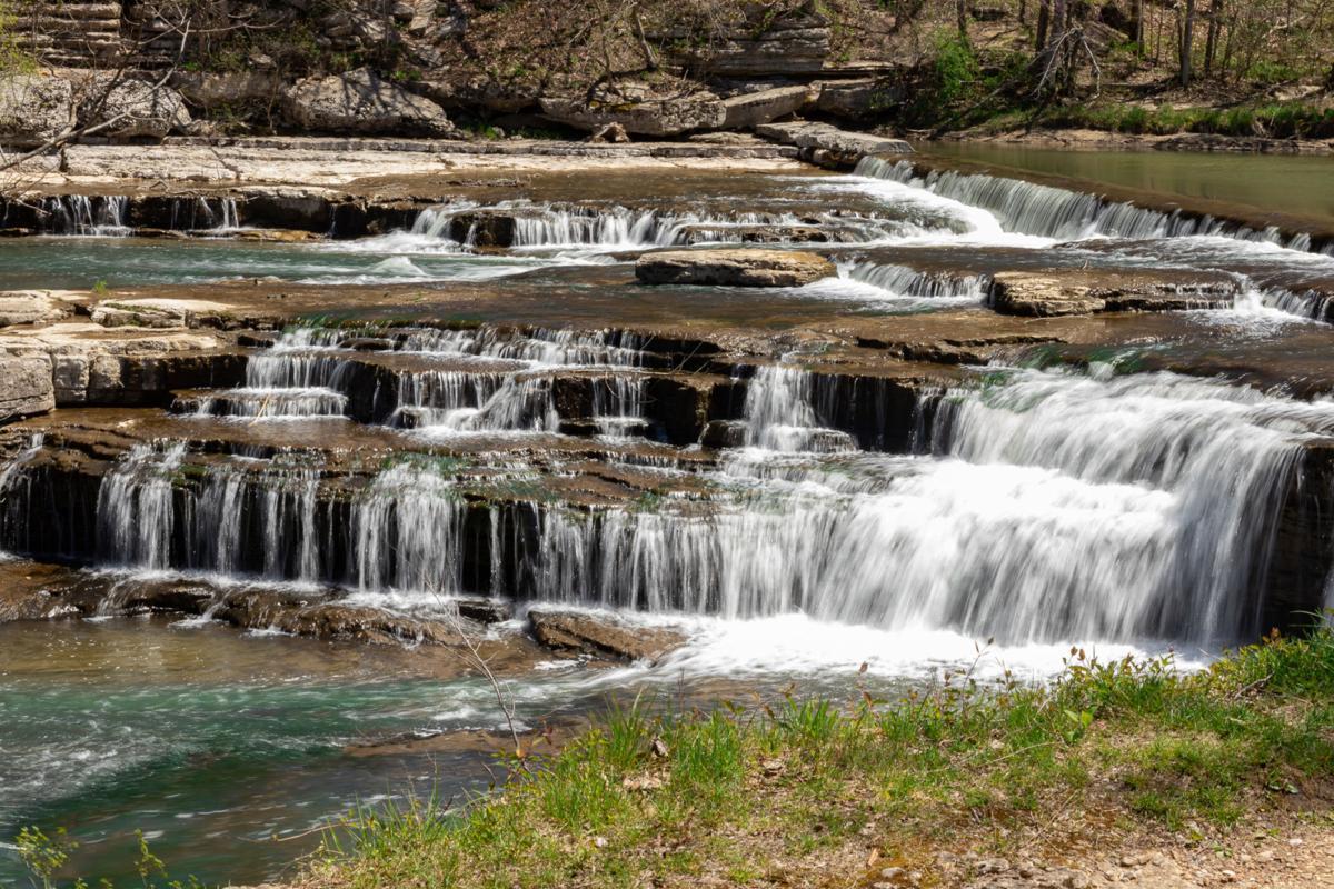 4/21/20 park, Upper Cataract Falls