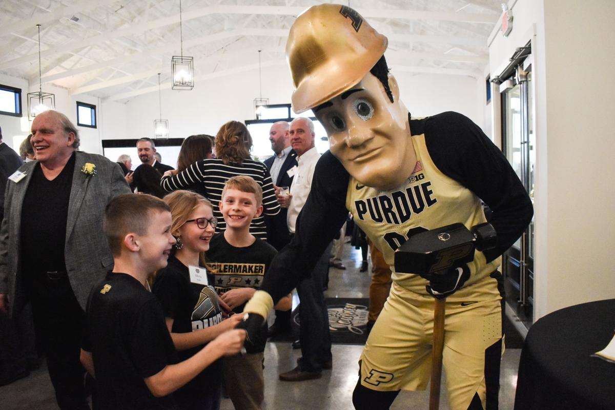 2/21/20 Athletics Hall of Fame Induction, Purdue Pete