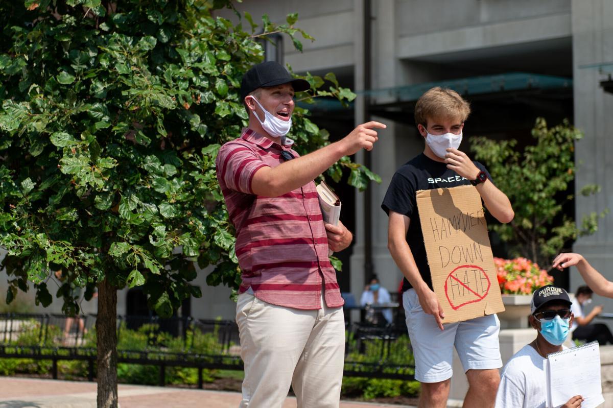 9/9/20 Preacher Protest Maskless Preacher