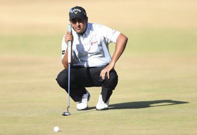 7/18/13 British Open Golf, Shiv Kapur