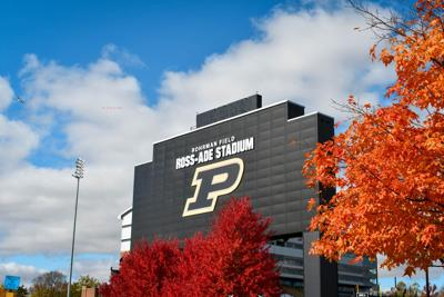 11/04/20 Daily Photo, Ross-Ade Fall Colors