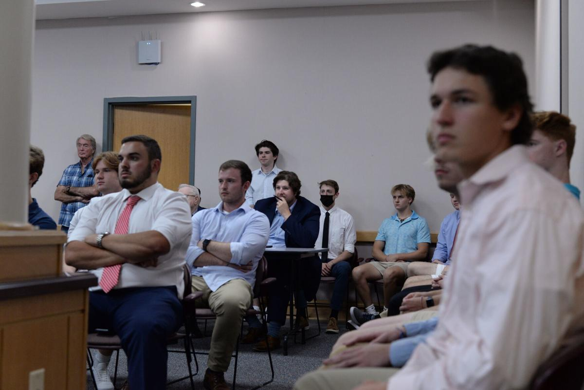 ATO House Rezoning, Fraternity Members
