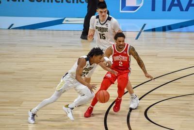 3/12/21 Big Ten Tournament, Ohio State, Jaden Ivey