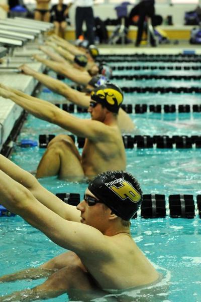 11/8/13 Purdue Swimming, November Triple Duals