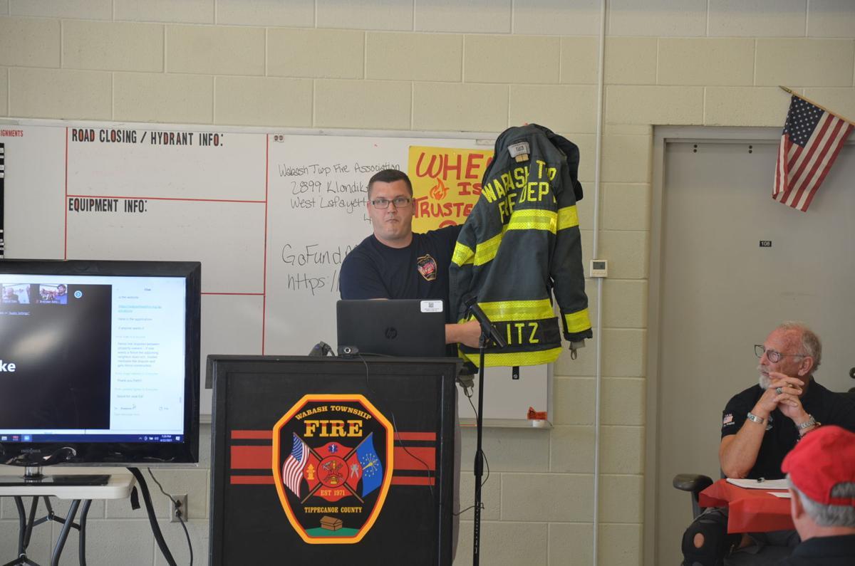 6/23/21 Former fire chief Ed Ward