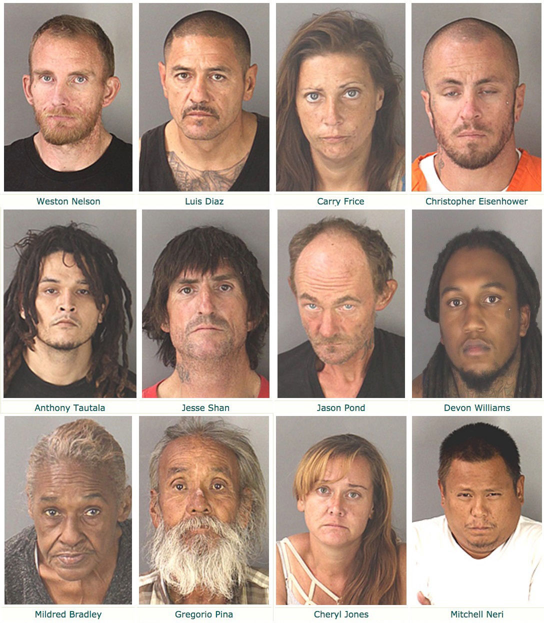 'Zero Tolerance' – Mass sweep nets 37 arrests: Area Sheriff's Dept., BPD, CHP lead Palo Verde Valley operation