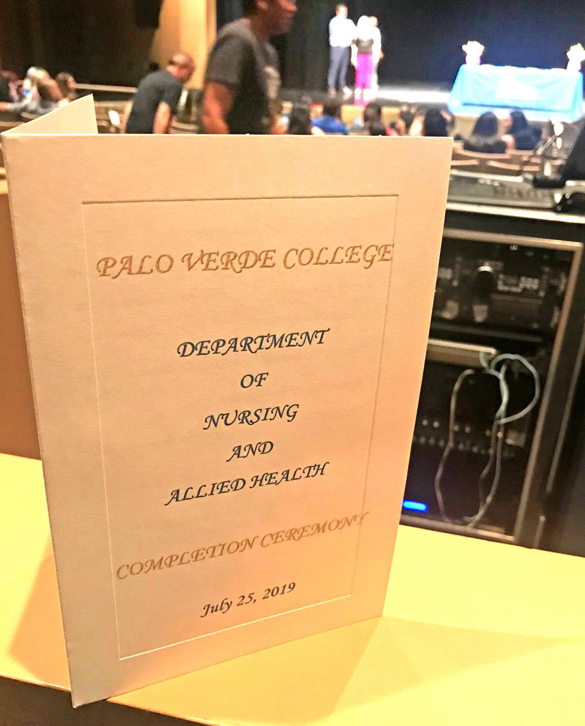 13 local high schoolers earn CNA pins: Ceremony culmination of new Palo Verde College-PVUSD program