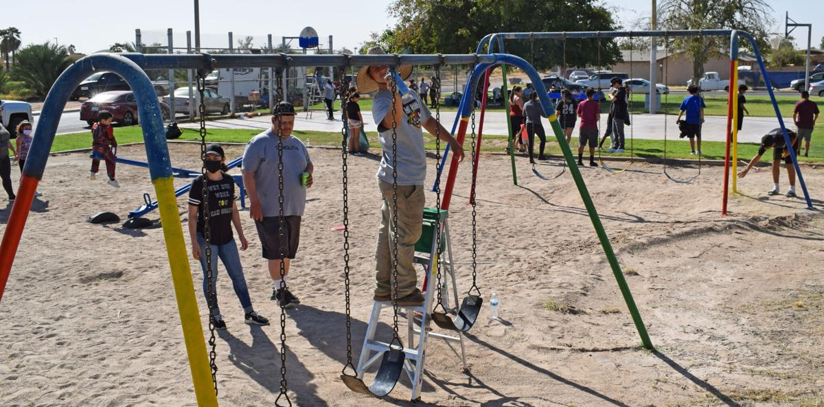 'Heart of the West Side': Blythe locals revamp neighborhood park
