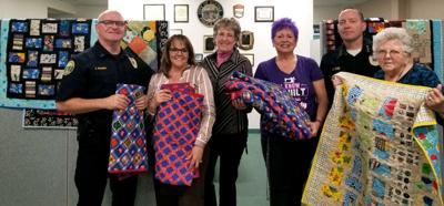 Palo Verde Quilt Guild delivers donation for kids in need: Handcrafted quilts provided to Blythe PAL