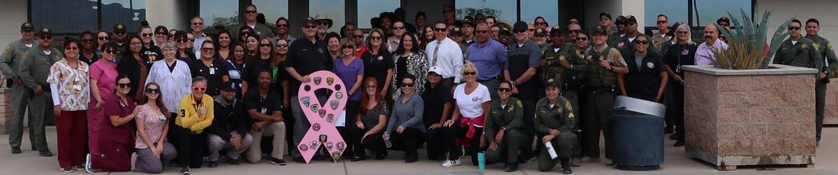 ISP staff holds 3rd Annual Cancer Walk: Group donates over $3K to BCRC