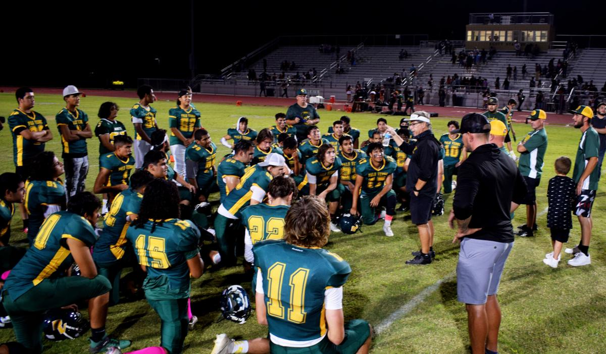 Jackets overwhelm Holtville 40-8: PVHS takes Desert League lead in dominant return