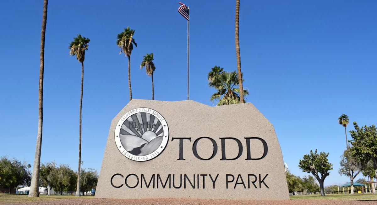 Todd & Miller Park's new monument signage placed