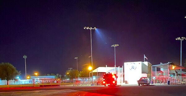 Blythe Little League reports fire near field Snack Shack, homeless problem
