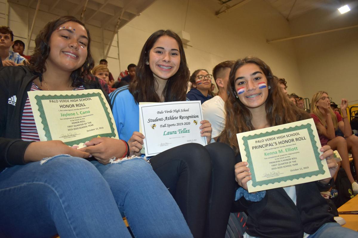 PVHS honors 1st quarter academic achievements