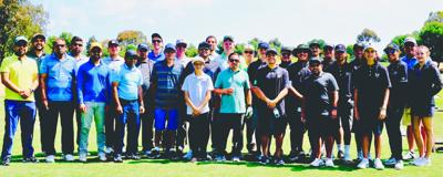 Yellow Jackets play 2019 Manu Bhakta Foundation Golf Tourney: Local PVHS team invited, hosted by community patrons' org.