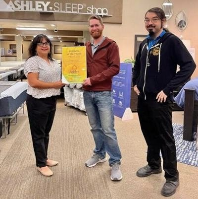 Blythe Chamber's March 2021 Business of the Month – Ashley Furniture