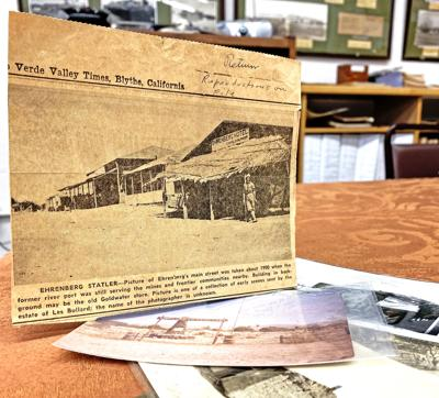 Palo Verde Historical Museum Presents: A look back at Ehrenberg's history