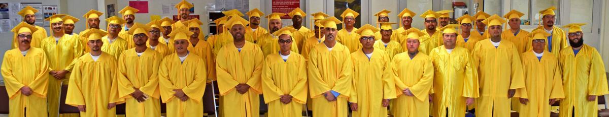 'Foundation for tomorrow': CVSP host inmates' adult school graduation