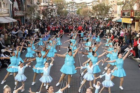Linda Faulkner Dance School kids perform at Disneyland: Hometown youth represent Blythe in Anaheim